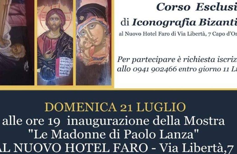 Le Madonne di Paolo Lanza, mostra al Nuovo Hotel Faro
