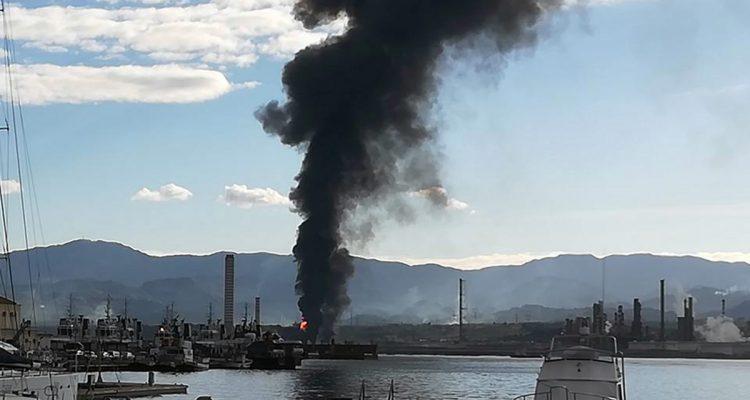Milazzo, incendio in raffineria, il presidente Adasc Maimone rimprovera i pochi controlli