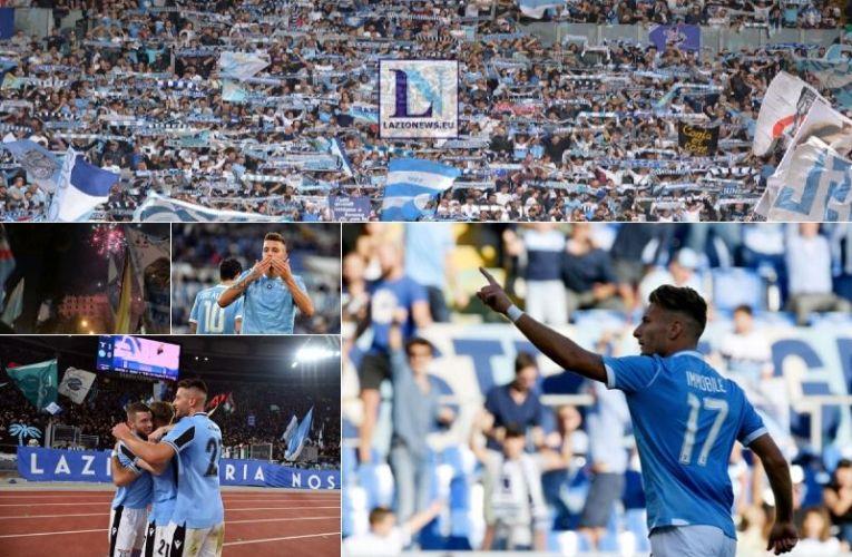 Lazio sul prato verde vola! Record di 10 vittorie consecutive del club
