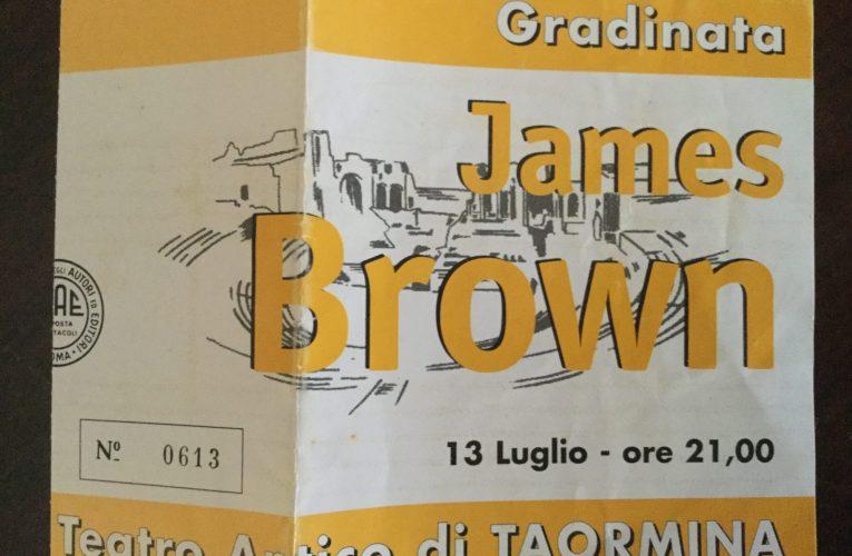 JAMES BROWN  live in Taormina 1998