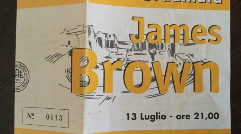 JAMES BROWN  live in Taormina 1998