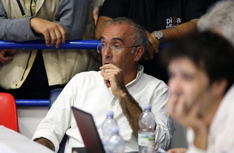 Il Presidente Sindoni su ripartenza, tifosi, PalaFantozzi. Il club lancia un'iniziativa solidale.