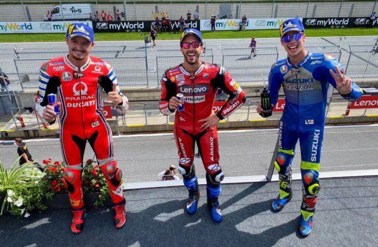 """Gp d'Austria: la vittoria di Andrea Dovizioso """"punisce"""" la scelta di Ducati."""