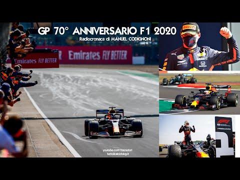 Gp 70° Anniversario: Max Verstappen rompe il dominio Mercedes.