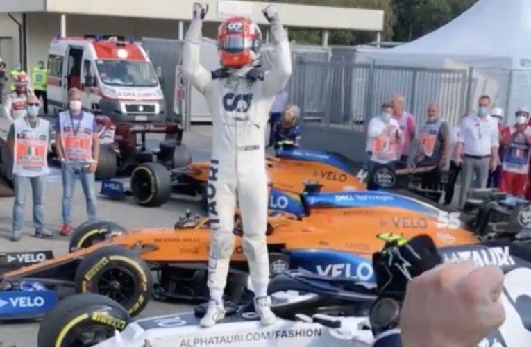 Gp d'Italia: Pierre Gasly e l'Alpha Tauri 12 anni dopo come Seb Vettel e la Toro Rosso