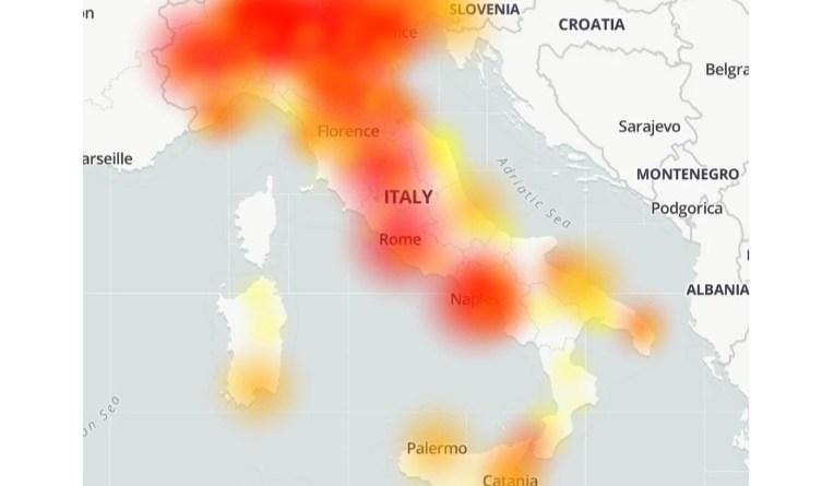 Problemi diffusi a PosteMobile: migliaia di segnalazioni di down nell'ultima ora