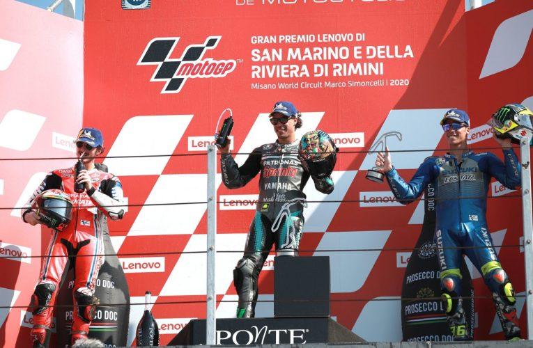 Gp San Marino: prima vittoria in MotoGP per Franco Morbidelli
