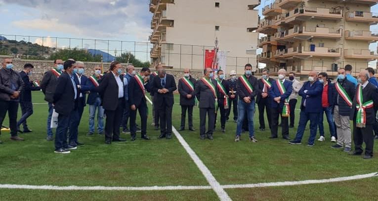 Nuovo campo sportivo a Santa Teresa di Riva