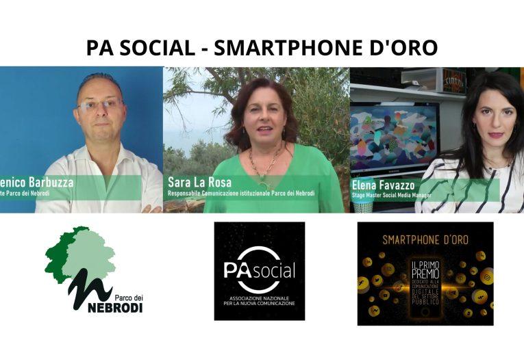 Il Parco dei Nebrodi partecipa al concorso Smartphone d'Oro