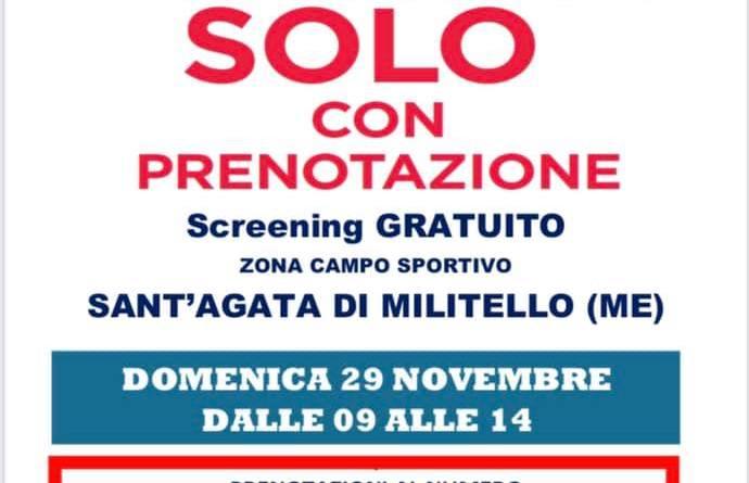Domenica 𝟐𝟗 Novembre drive in a Sant'Agata Militello (Me)