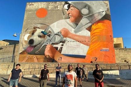 """Street Art Cities"", Bagheria tra le 723 mete mondiali consigliate"