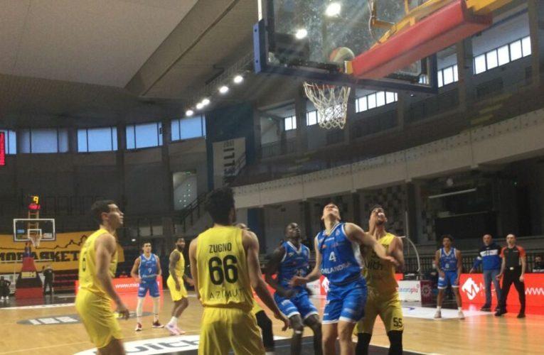 L'Orlandina torna alla vittoria! Batte Bergamo al PalaAgnelli 82-78