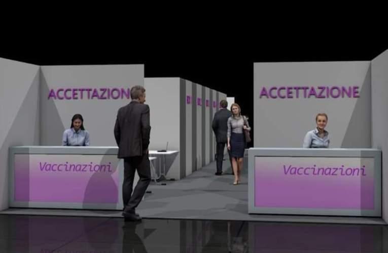 La Sicilia si prepara coi suoi hub vaccinali.