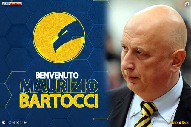 Fidelia Torrenova comunica che il nuovo Capo Allenatore della Prima Squadra è coach Maurizio Bartocci.