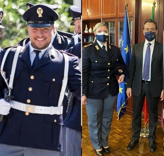 Napoli – Lui vittima del dovere, lei diventa Agente |VIDEO