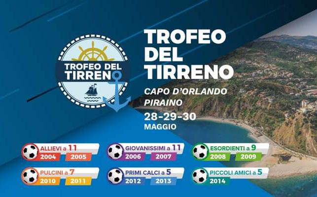 """Giovanili: grande successo al """"Trofeo del Tirreno"""" disputato a Capo d'Orlando e Piraino"""