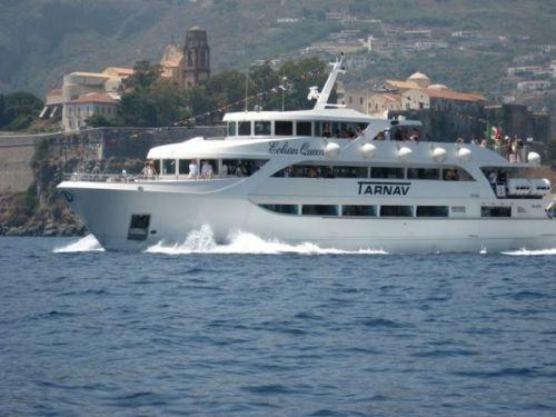 Capo d'Orlando Marina – servizio di collegamento con le Isole Eolie