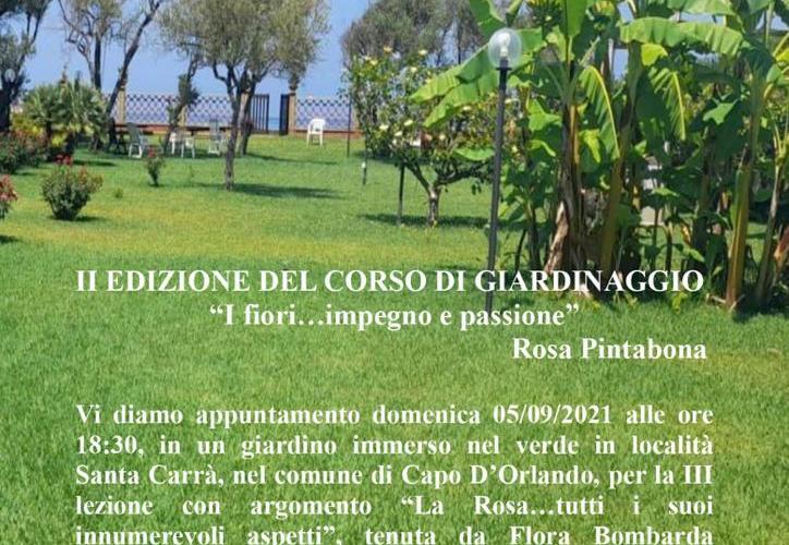 """Sinagra: 3° lezione del corso di Giardinaggio """"I fiori… impegno e passione"""""""