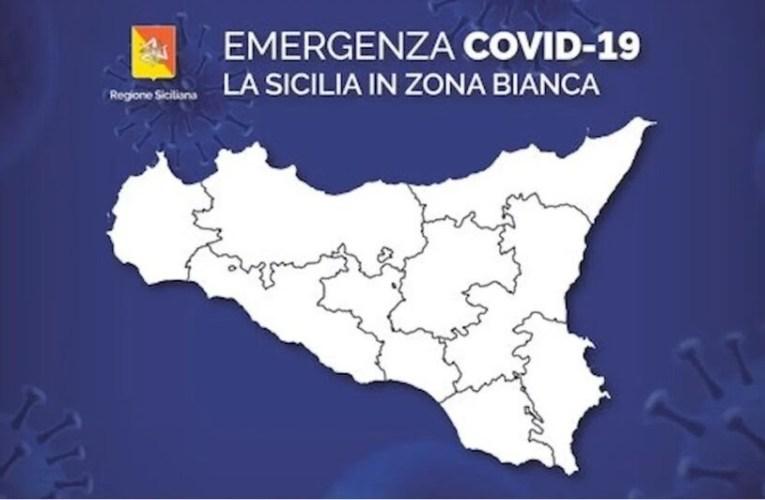 """""""Sicilia torna zona bianca"""", l'annuncio. Ecco le regole"""