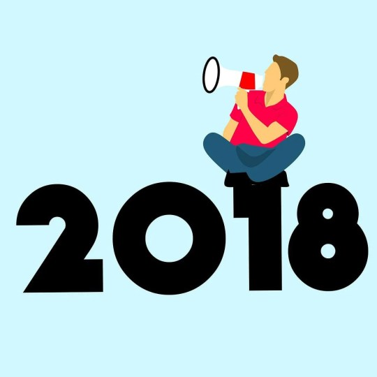 new year, new year 2018, copywriting, graphic design