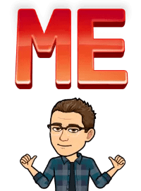 Matt BitEmoji with the word me over his head, why blogging is important, business blog, copywriter