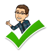 BitMoji Matt thumbs up