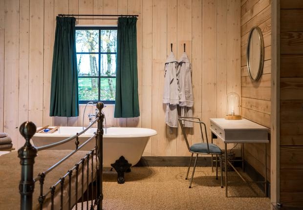 You can choose to just relax in your stylish cabin