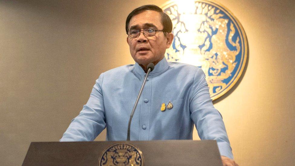 Sri Lankan invites Thai PM for visit