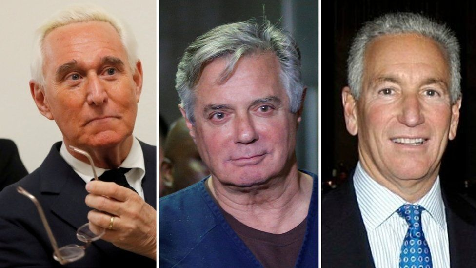 Trump pardons Paul Manafort, Roger Stone and Charles Kushner
