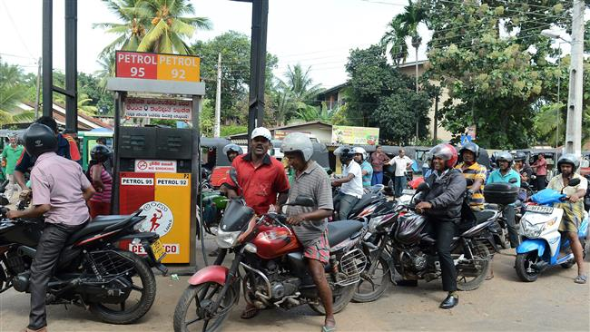 No barrels, no cans as queues wind their way from fuel stations