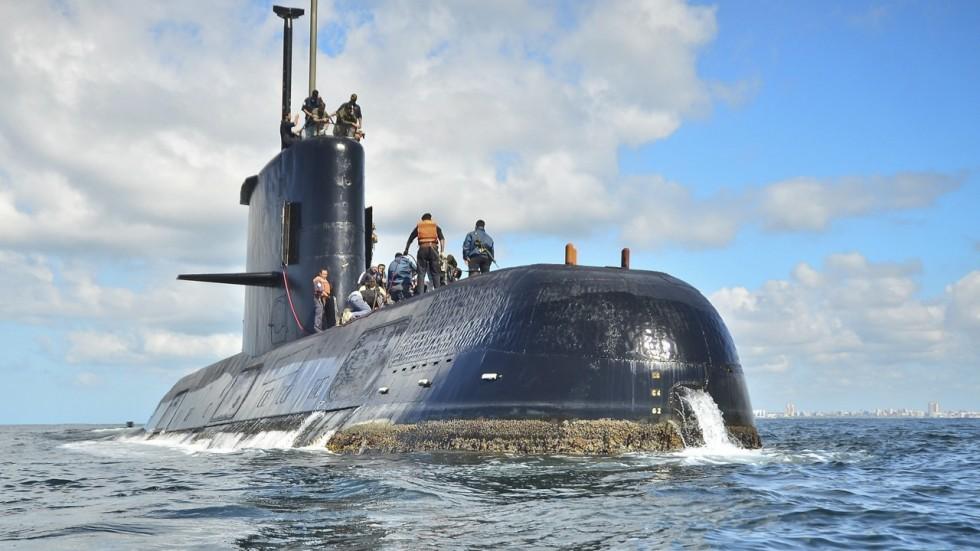 Argentina's navy concerned about oxygen levels of vanished submarine