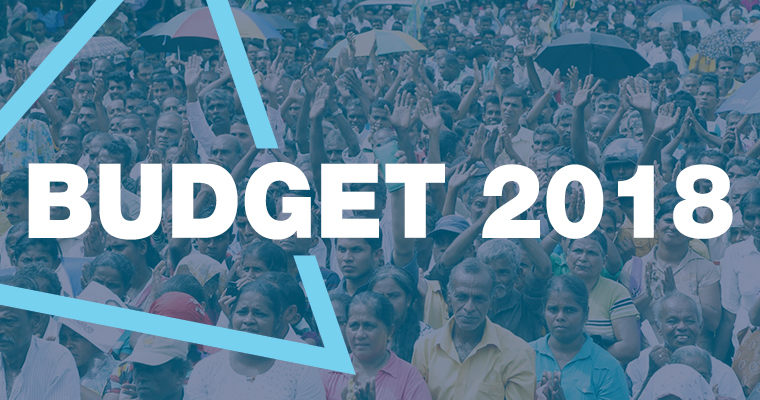 2018 Budget to be presented in Parliament