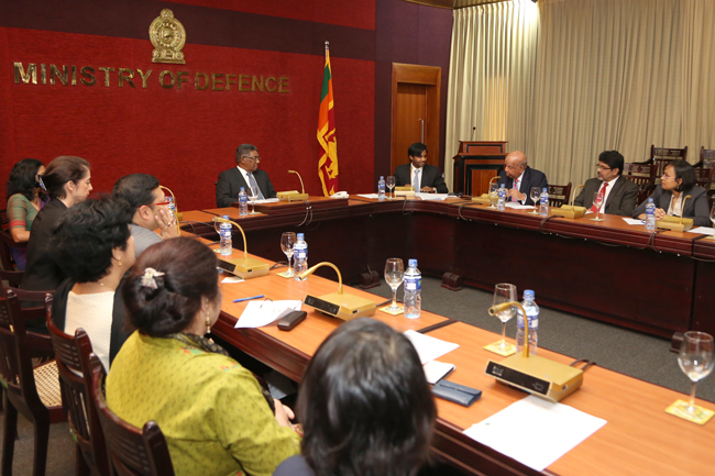 Sri Lanka national security think tank holds panel discussion on post-war role of armed forces