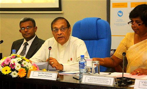Sri Lanka Speaker emphasizes the need to formulate policies for early childhood development