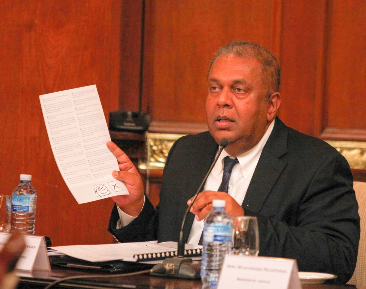 Finance Minister says budget aims at fast tracking liberalization
