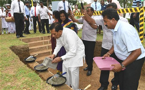 Foundation laid for National Stroke Center to be established in Colombo East hospital