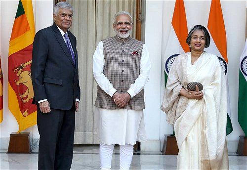 Indian, Sri Lankan Premiers discuss entire gamut of bilateral relations