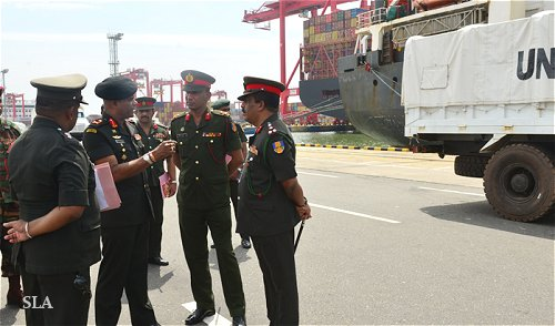 Sri Lanka Army Contingent Owned Equipment troops set to leave for Mali on peacekeeping mission