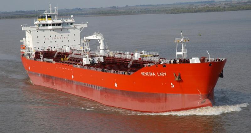 Fuel tanker Neveska Lady arrives in Colombo Port
