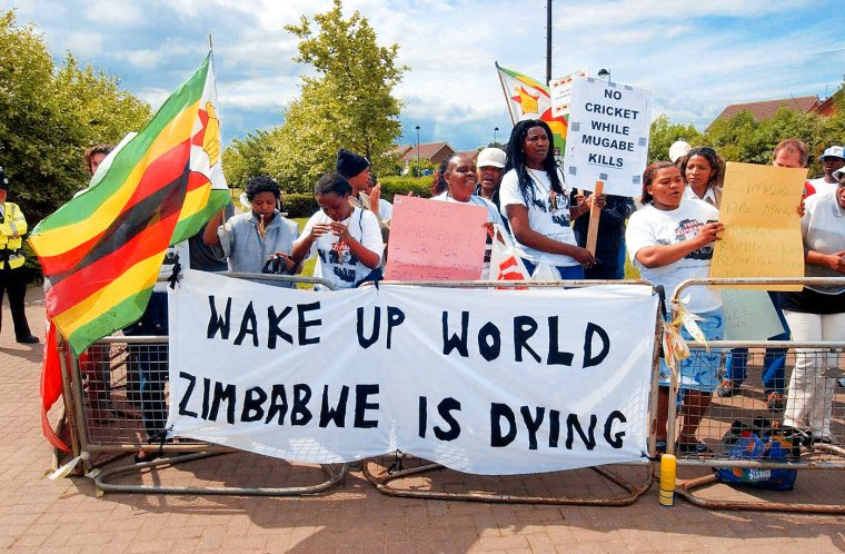 Zimbabwe crisis: 'Moment of hope' as Robert Mugabe's iron grip on power evaporates