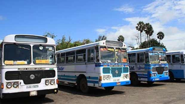 Bus fares in Sri Lanka up from yesterday midnight