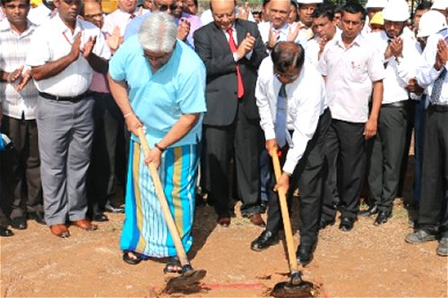Consecution of new oil tank complex in Kolonnawa begins after 40 years