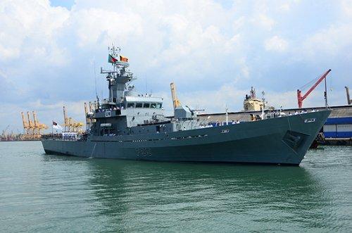 Bangladesh Navy ship Bijoy arrives at Sri Lankan port on goodwill visit