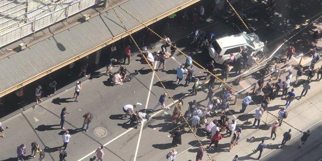 Horror at 60 mph: Mentally ill rogue driver run through busy Melbourne street
