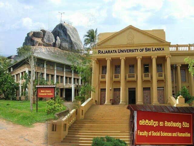 Four faculties of Rajarata University closed temporarily