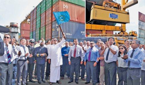 Sri Lanka's Colombo Port handles six million TEU in 2017