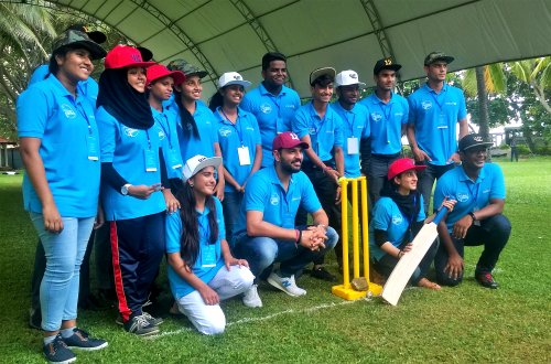 Cricket superstar Yuvraj Singh and Under 19 Cricket stars unite for adolescents in South Asia