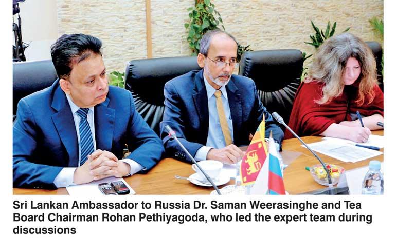 Russia lifts ban on Ceylon tea
