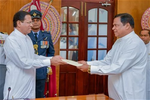 President appoints Piyasena Gamage as State Minister of Law and Order and Southern Development