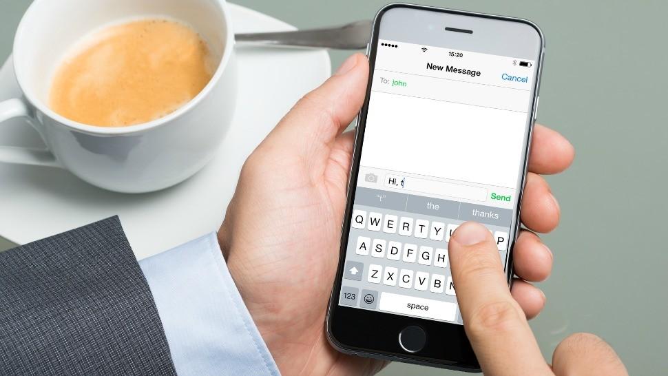 Text messaging celebrates 25th birthday